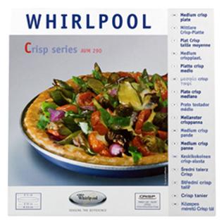 Whirlpool Crisp-Platte medium (Ø29cm) AVM290