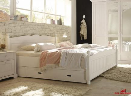 landhaus bett g nstig sicher kaufen bei yatego. Black Bedroom Furniture Sets. Home Design Ideas