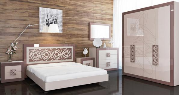 hochglanz schlafzimmer online bestellen bei yatego. Black Bedroom Furniture Sets. Home Design Ideas