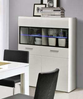 vitrine hochglanz schwarz g nstig kaufen bei yatego. Black Bedroom Furniture Sets. Home Design Ideas
