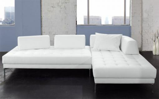 ecksofa kunstleder weiss g nstig kaufen bei yatego. Black Bedroom Furniture Sets. Home Design Ideas