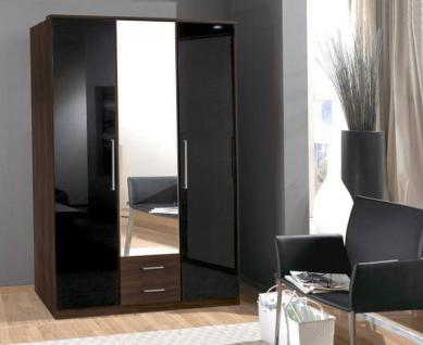 kleiderschrank nussbaum online bestellen bei yatego. Black Bedroom Furniture Sets. Home Design Ideas