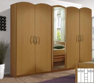 kleiderschrank spiegel buche g nstig online kaufen yatego. Black Bedroom Furniture Sets. Home Design Ideas