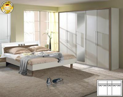 kleiderschrank nussbaum weiss g nstig online kaufen yatego. Black Bedroom Furniture Sets. Home Design Ideas
