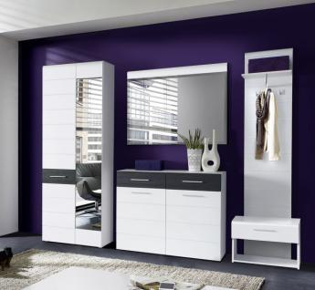 garderobe mit hutablage 70 cm g nstig online kaufen yatego. Black Bedroom Furniture Sets. Home Design Ideas