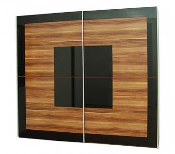 kleiderschrank schwarz hochglanz g nstig bei yatego. Black Bedroom Furniture Sets. Home Design Ideas