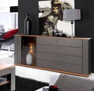 sideboard kommode grau online bestellen bei yatego. Black Bedroom Furniture Sets. Home Design Ideas