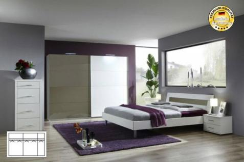 schlafzimmer grau weiss online bestellen bei yatego. Black Bedroom Furniture Sets. Home Design Ideas
