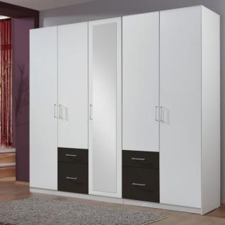 kleiderschrank 5 t rig weiss g nstig online kaufen yatego. Black Bedroom Furniture Sets. Home Design Ideas