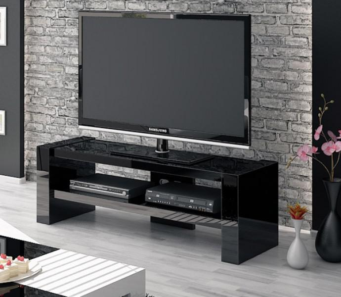hochglanz tv lowboard anrichte schwarz neu kaufen bei feldmann wohnen gmbh. Black Bedroom Furniture Sets. Home Design Ideas