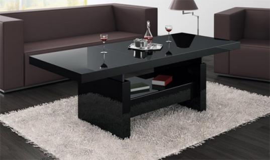 couchtisch h henverstellbar ausziehbar bei yatego. Black Bedroom Furniture Sets. Home Design Ideas