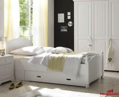 landhaus betten weiss online bestellen bei yatego. Black Bedroom Furniture Sets. Home Design Ideas
