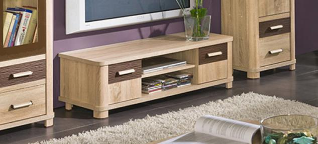 tv lowboard eiche sonoma g nstig kaufen bei yatego. Black Bedroom Furniture Sets. Home Design Ideas