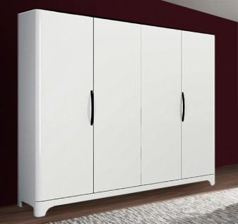 schrank hochglanz schwarz weiss g nstig bei yatego. Black Bedroom Furniture Sets. Home Design Ideas