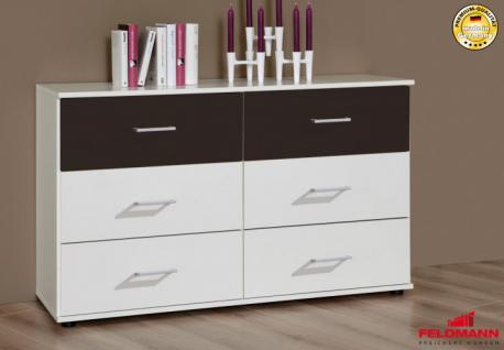 kommode in alpinweiss online bestellen bei yatego. Black Bedroom Furniture Sets. Home Design Ideas