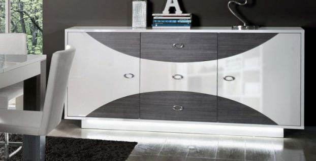 kommode sideboard grau online bestellen bei yatego. Black Bedroom Furniture Sets. Home Design Ideas