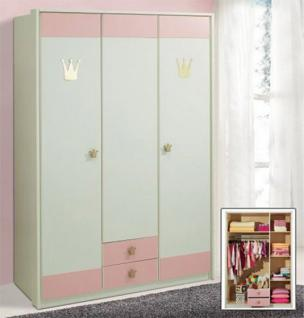 kinderzimmer schrank weiss rosa g nstig bei yatego. Black Bedroom Furniture Sets. Home Design Ideas