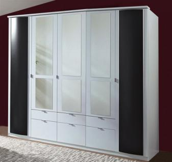 kleiderschrank wei spiegel g nstig online kaufen yatego. Black Bedroom Furniture Sets. Home Design Ideas