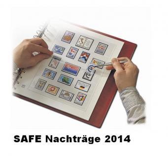 SAFE 224614SP dual Nachträge - Nachtrag / Vordrucke Österreich - Kleinbogen A-D 2014
