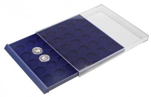 SAFE 6329 Nova Münzboxen - Schubladenelemente 35 runde Fächer 29 mm für 5 Euro DM Mark der DDR & bis Münzkapseln 23, 5 mm