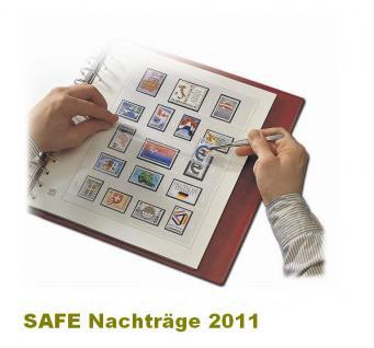 SAFE 1611 dual Nachträge - Nachtrag / Vordrucke Frankreich - France Jahresschmuckblätter - 2011