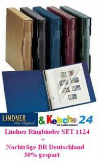 LINDNER Nachträge Bund 1949-69 + 1124 Ringbinderset
