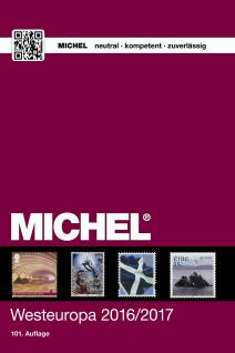Michel Briefmarken Katalog Westeuropa 2016 / 2017 EK6 + GRATIS Bonus ETB