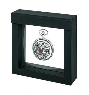 LINDNER 4839 NIMBUS 100 Schwarz Sammelrahmen Schweberahmen 3D 100x100x25 mm Für Taschenuhren - Armbanduhren - Uhren - Schmuck