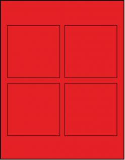 Lindner 2804 D-Box Münzboxen Sammelboxen für 4 Münzen 100 x 100 x 22 mm hellrot Standard Grau