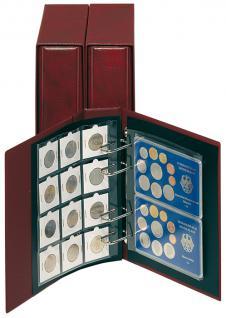 5 x LINDNER MC12 collect Münzblätter für 12 OCTO MÜNZKAPSELN / Münzrähmchen Standard 50 x 50 mm - Vorschau 3