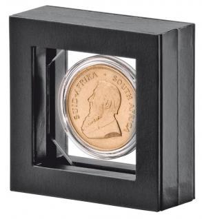 LINDNER Set 4835 - 035 NIMBUS OCTO Rahmen 66 x 66 x 24 mm + OCTO Münzkapsel 35 mm Ø für 20 US Gold Dollar Liberty 1 Unze Libertad Gold