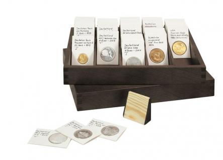 5 LINDNER RCH Holzkeile für Box Kassetten RCB-2 Münzrähmchen & Rebeck Coin L - Vorschau 2