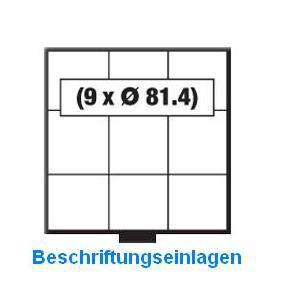 SAFE 6243 BEBA Beschriftungseinlagen Kartoneinlagen Etiketten für MINI Schuber 6203 - Vorschau