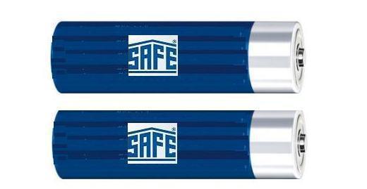 1 x SAFE 9812 Spezial Batterien Baby 1, 5 V Volt Für Lupen - Leuchten
