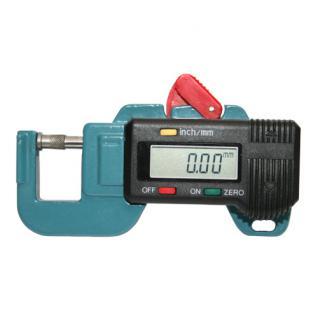 SAFE 9864 Digitales Dickenmeßgerät Dickenmesser Dickenmessgerät Genauigkeit 0, 01mm inklusive Batterie