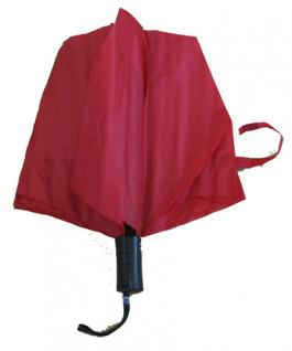 POINT Lila Flieder Lady Like Damen Regenschirme Knopfdruck Automatik 93 cm in 6 Farben - - Vorschau 2