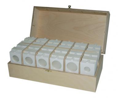 Hartberger 8323 Assorti-Box 1200 selbstklebende Münzrähmchen Mixed 15 - 39, 5 mm
