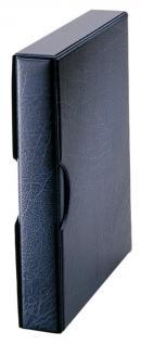 Hartberger 8201 Blaue Schutzkassette für Ringbinder Münzalbum Münrähmchen 8200