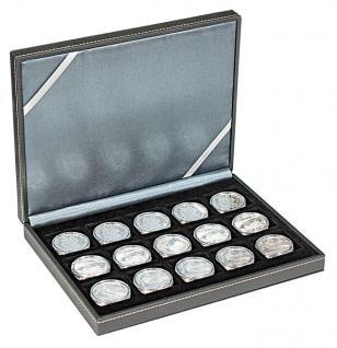 LINDNER 2363-15 Nera XM Münzkassetten Sammel Kassetten mit 15 Feldern für Münzen bis 40 mm & bis Münzkapseln 33 - 34 mm - Vorschau 2