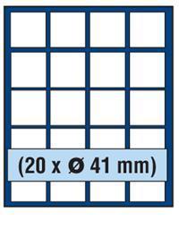 SAFE 230 - 6341 PLUS ALU Münzkoffer SMART USA 9 Tableaus 180 Fächer 41 mm für US EAGLE DOLLAR - Vorschau 3