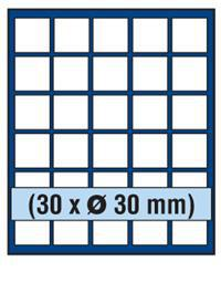 SAFE 230 - 6330 STANDARD ALU Münzkoffer SMART USA 6 Tableaus 180 Fächer 30 mm & Münzkapseln 24, 5 mm US Quarters in Münzkapseln - Vorschau 3