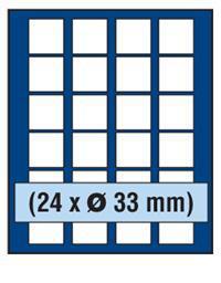 SAFE 230 - 6333 PLUS ALU Münzkoffer SMART USA 9 Tableaus 216 Fächer 33 mm & Münzkapseln 27 US Sacajawea Presidential Dollars - Vorschau 3