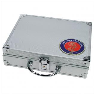 SAFE 230 ALU Sammelkoffer SMART Frankreich - France + 3D Plakette leer für alles was gesammelt wird von A - Z - Vorschau 1