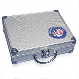 SAFE 230 PLUS ALU Münzkoffer USA mit 9 Tableaus - 27 Modelle für bis zu 720 Münzen - FREIE AUSWAHL - Vorschau 3