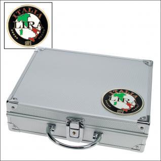 SAFE 232 ALU Sammelkoffer SMART Italien - Italy - Italia + 3D Plakette (leer) für alles was gesammelt wird von A - Z