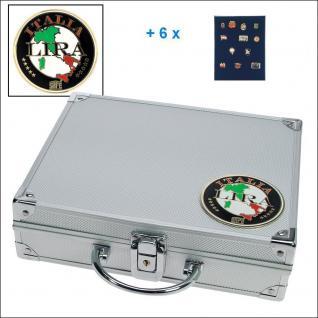 SAFE 232 - 6360 STANDARD ALU Sammelkoffer SMART Italien 6 Tableaus ohne Einteilung Pins Anstecknadeln Militaria Broschen