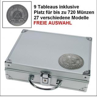 SAFE 234 PLUS ALU Münzkoffer SMART DDR Deutsche Demokratische Republik 9 Tableaus 27 Modelle verfügbar FREIE AUSWAHL