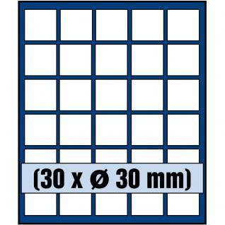 SAFE 6330 Nova Münzboxen - Schubladenelemente 30 runde Fächer 30 mm für 5 Euro DM Mark der DDR & Münzkapseln bis 24,5 mm