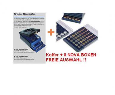 SAFE SET 6310 Nova Münzkoffer Münzboxkoffer STANDARD + 8 x Münzboxen - Schubladenelemente FREIE WAHL - Vorschau 1