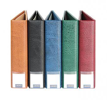 LINDNER 3530 - B Blauer MULTI COLLECT Ringbinder Album PUBLICA M für Briefmarken Münzen Bankoten Postkarten Ansichtskarten FDC ETB